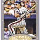 GARY CARTER 2012 Topps Gypsy Queen Card #251 NEW YORK METS Baseball FREE SHIPPING