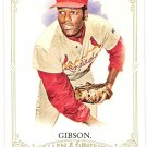 BOB GIBSON 2012 Topps Allen & Ginter SHORT PRINT Card #311 ST LOUIS CARDINALS FREE SHIPPING SP