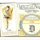 TY COBB 2012 Topps Allen & Ginter What's In A Name INSERT Card #WIN82 DETROIT TIGERS FREE SHIPPING