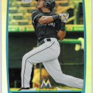 JESUS SOLORZANO 2012 Bowman CHROME Prospects ROOKIE REFRACTOR Card BCP178 MIAMI MARLINS FREE SHIP