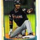EMILIO BONIFACIO 2012 Bowman Chrome REFRACTOR Insert Card #133 MIAMI MARLINS Baseball FREE SHIPPING