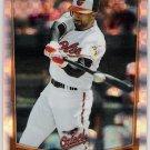 NICK MARKAKIS 2012 Bowman Chrome X-FRACTOR Insert Card #20 BALTIMORE ORIOLES Baseball FREE SHIPPING