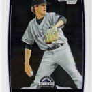 BEN ALSUP 2012 Bowman CHROME Prospects 1st ROOKIE Card #BCP195 COLORADO ROCKIES FREE SHIPPING