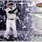 ICHIRO SUZUKI 2002 Upper Deck Ballpark Idols Playmakers INSERT Card #P15 SEATTLE MARINERS Baseball
