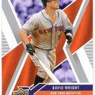 DAVID WRIGHT 2008 Upper Deck X Card #62 NEW YORK METS Baseball FREE SHIPPING 62