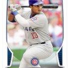 STARLIN CASTRO 2013 Bowman Card #17 CHICAGO CUBS Baseball FREE SHIPPING 17