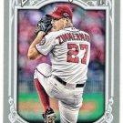 JORDAN ZIMMERMAN 2013 Topps Gypsy Queen Card #278 WASHINGTON NATIONALS Baseball FREE SHIPPING