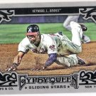 JASON HEYWARD 2013 Topps Gypsy Queen Sliding Stars INSERT Card #SS-JH ATLANTA BRAVES Baseball SS-JH