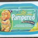 PAMPERED 2013 Topps Wacky Packages BLUE Parallel INSERT Sticker Card #52 Series 10 FREE SHIPPING 10