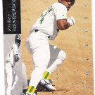RICKEY HENDERSON 1994 Upper Deck Electric Diamond INSERT Card #60 OAKLAND A'S Baseball FREE SHIPPING
