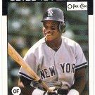 RICKEY HENDERSON 1986 O-Pee-Chee Card #243 NEW YORK YANKEES Baseball FREE SHIPPING 243 HOF Topps