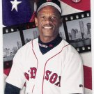 RICKEY HENDERSON 2002 Donruss Studio Card #120 BOSTON RED SOX Baseball FREE SHIPPING 120 HOF