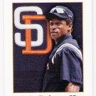 RICKEY HENDERSON 2001 Donruss Studio Card #110 SAN DIEGO PADRES Baseball FREE SHIPPING 110 HOF