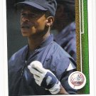 RICKEY HENDERSON 1989 Upper Deck ERROR Card #210 NEW YORK YANKEES Baseball FREE SHIPPING HOF 210