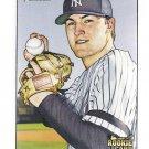 PHIL HUGHES 2007 Bowman Heritage SHORT PRINT Variation ROOKIE Card #240 NEW YORK YANKEES 240B