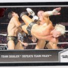 TEAM ZIGGLER Defeats TEAM FOLEY 2013 Topps Best Of WWE Wrestling Card #62 FREE SHIPPING WWF Dolph 62
