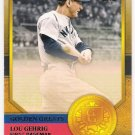 LOU GEHRIG 2012 Topps Golden Greats INSERT Baseball Card #GG4 NEW YORK YANKEES Free Shipping GG4