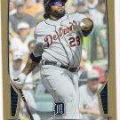 PRINCE FIELDER 2013 Bowman GOLD Parallel INSERT Card #189 DETROIT TIGERS Baseball FREE SHIPPING 189