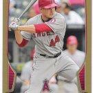 MARK TRUMBO 2013 Bowman GOLD Parallel INSERT Card #12 ANAHEIM ANGELS Baseball FREE SHIPPPING 12