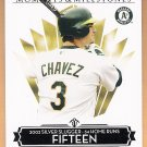 ERIC CHAVEZ 2008 Topps Moments & Milestones Card #116 OAKLAND A'S #'d 63/150 Baseball FREE SHIPPING