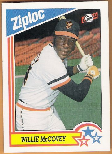 Willie Mccovey 1992 Dowbrands Ziploc Baseball Card 7 San Francisco