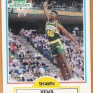 SHAWN KEMP 1990-91 Fleer Card #178 SEATTLE SUPERSONICS Basketball FREE SHIPPING 178