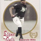 DONTRELLE WILLIS 2004 Fleer Tradition Stand Outs SHORT PRINT Card #470 FLORIDA MARLINS FREE SHIPPING