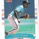 PABLO OZUNA 2002 Fleer GOLD Backs INSERT Card #429 FLORIDA MARLINS #'d 101/200 FREE SHIPPING 429