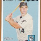 JOSH WILLINGHAM 2007 Topps Heritage Card #322 FLORIDA MARLINS Baseball FREE SHIPPING 322