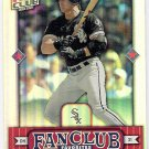 JOSE CANSECO 2002 Donruss Best of Fan Club Card #282 CHICAGO WHITE SOX Free Shipping #'d 1662/2025