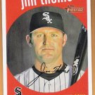 JIM THOME 2008 Topps Heritage Card #238 CHICAGO WHITE SOX Baseball FREE SHIPPING 238