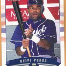 NEIFI PEREZ 2002 Fleer GOLD Backs INSERT Card #363 KANSAS CITY ROYALS #d 132/200 FREE SHIPPING 363