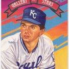 WALLY JOYNER 1992 Donruss Gallery of Stars INSERT Card GS2 KANSAS CITY ROYALS Baseball FREE SHIPPING