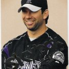 TODD HELTON 2004 Skybox Autographics Card #7 COLORADO ROCKIES Baseball FREE SHIPPING 7