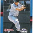 TODD HELTON 2002 Donruss Originals Card #389 COLORADO ROCKIES Baseball FREE SHIPPING 1988 Design 389