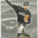 AARON COOK 2002 Fleer Future GOLD Back PARALLEL Insert Card #492 COLORADO ROCKIES Free Shipping 492