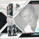 AJ PIERZYNSKI 2003 Upper Deck SPx Card #68 MINNESOTA TWINS Baseball FREE SHIPPING 68