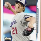 ZACK GREINKE 2014 Topps Update Series All Star Game Card #US-297 LOS ANGELES DODGERS Free Shipping