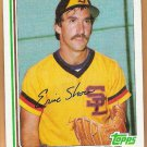 ERIC SHOW 1982 Topps Traded Card #106T SAN DIEGO PADRES Baseball FREE SHIPPING 106T