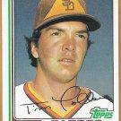 TIM LOLLAR 1982 Topps Card #587 SAN DIEGO PADRES Baseball FREE SHIPPING 587