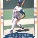 KELVIM ESCOBAR 2002 Fleer GOLD Backs INSERT Card #63 #d 184/200 TORONTO BLUE JAYS Free Shipping 63