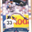 FELIPE LOPEZ 2002 Fleer GOLD Backs INSERT Card #75 TORONTO BLUE JAYS Free Shipping Baseball 75