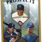 VERNON WELLS 1999 Topps Prospects ROOKIE Card #436 TORONTO BLUE JAYS Baseball FREE SHIPPING 436