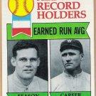 WALTER JOHNSON & DUTCH LEONARD 1979 Topps Card #418 BOSTON RED SOX Baseball FREE SHIPPING