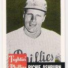 RICHIE ASHBURN 1991 Topps Archives Card #311 PHILADELPHIA PHILLIES Baseball FREE SHIPPING 311