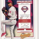 FRANKLIN NUNEZ 2002 Fleer Authentix Ticket To The Majors ROOKIE Card #164 PHILADELPHIA PHILLIES #'d