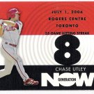 CHASE UTLEY 2007 Topps Generation Now INSERT Card #GN58 PHILADELPHIA PHILLIES Baseball FREE SHIPPING