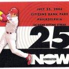 CHASE UTLEY 2007 Topps Generation Now INSERT Card #GN75 PHILADELPHIA PHILLIES Baseball FREE SHIPPING