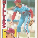RON REED 1984 Topps Card #43 PHILADELPHIA PHILLIES Baseball FREE SHIPPING 43
