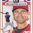 BRIAN DOZIER 2014 Panini Donruss Diamond King INSERT Card 224 MINNESOTA TWINS Baseball FREE SHIPPING